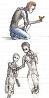 Klaine sketches by HorizontalProjection