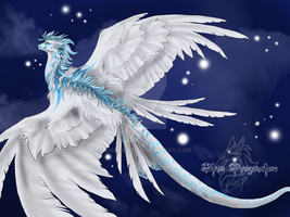 .::Blue Dragonclaw::. by Shadow-of-Destiny