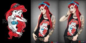Rebel Mermaid by Euflonica