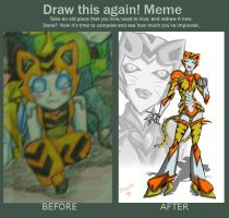 meme  before and after  Tabby by Israel42