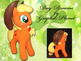 My Little Pony Applejack Plush by GraphicPlanetDesigns