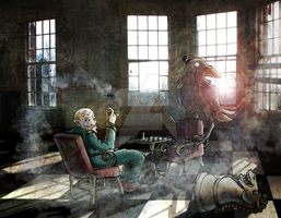 Madness in an abandonned Asylum by Bullseye29