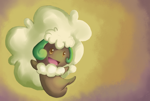 Whimsicott. by Mack-chan