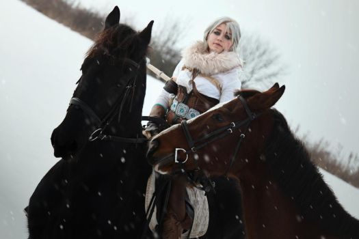 Waiting for Geralt by Juri-cosplay