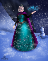 Elsa Let it go by Faerie-Elf