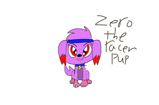 Zero the racer pup by boo-boo-kitty-108