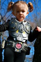 Gears of War, mini-COGs by cimmerianwillow