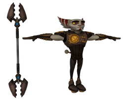 Ratchet and Clank: ACiT - Alister Azimuth by o0DemonBoy0o