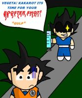 Goku and Vegeta Moment 4 by Jenetik1