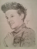 Louis Tomlinson by zazafras