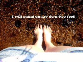 I WillStand On My Own Two Feet by kml91225