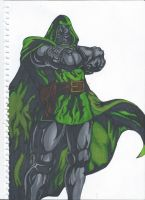 Dr Doom by danbol