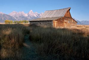 Mormon Row Barn by papatheo
