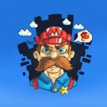 Angry_Mario by Hamzeh-Kalimat