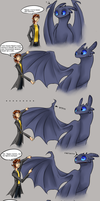 Rion and Blacky: Fingers by Mergreze