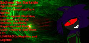 Sadness The Darkside's Info by 123shadowlove