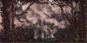 Jungle Falls by prolificlifeforms