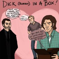 Dick in a box by creatingmyths