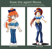 Before and After Meme by PinkyPadgett