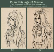 Draw this again meme by atomic-cocktail