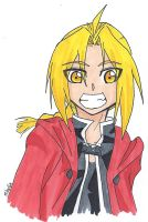 Edward Elric 01 by MikaGx