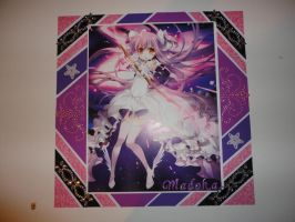 Magical Madoka anime 12 x 12 scrapbook page by butterflypromqueen