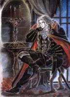 Alucard Symphony of the Night by ClAyMoRe--MiRiA