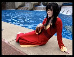 Otakon 2009: Fire Princess by melvinopolis