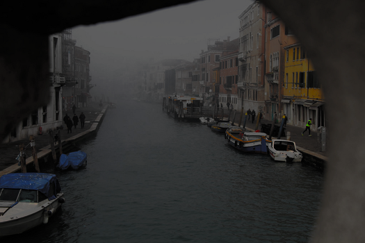 Fog in Venice 2 by Schreibsessel