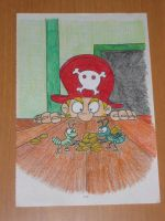 Pirate Coloring Book Page 2 by strangelittleimp