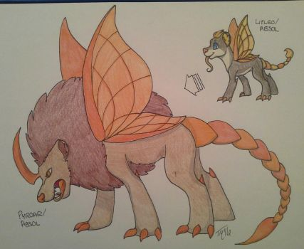PKMNation : : GDA : : Manticore Evolution by IamBagel58