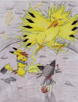 PMD PlatinumRC 003 Vs Zapdos by UmbreonShadowWolf004