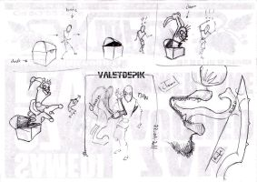 Eat this - storyboard 01 by Valetdepik