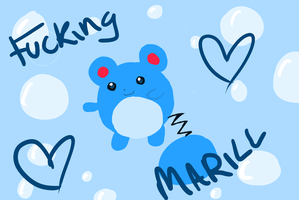 fucking marill by HawtayanPunk