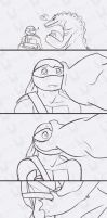 tmnt LH vs Raph - The Donnie by Dragona15