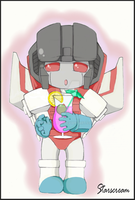 Chibi Starscream by GoreChick