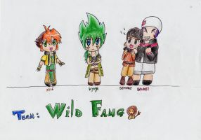 Chibi Team Wild fang by IperGiratina98