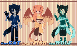 .:FREE LIVESTEAM ADOPTABLES:. by GloryCat