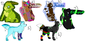 Old fursona adopts CLOSED by 50-Shades-Of-Gay