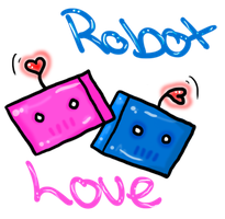 Robot Love by BreeBones