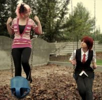 SasoSaku Swings by Saso-chanCosplay