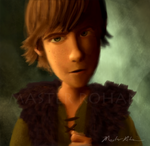 Portrait of Hiccup by masterrohan