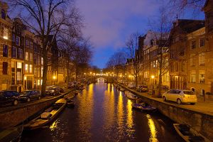 Amsterdam Canal by scoiattolissimo