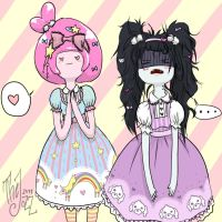 Marcy and PB-SWEET LOLITA STYLE by TheJozz