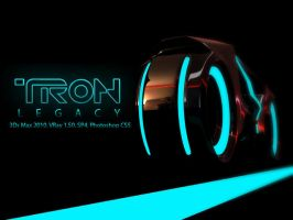TRON Light Cycle by EnricoMulyadi