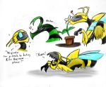 Sweet Killer Bee by StrixMoonwing