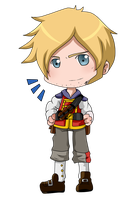Another Chibi Ben Finn by BlackBerryJelly