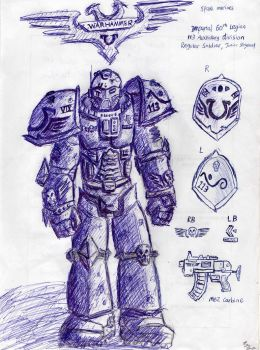 Space Marine concept by Noacuracy