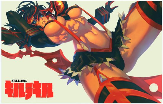 Ryuko Matoi Print by JetEffects
