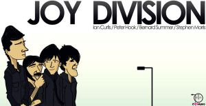 Joy Division cartoon by mr-pink-eyes